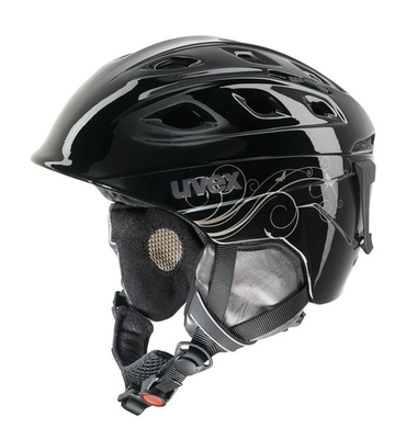 helma UVEX FUNRIDE 2 LADY, black/gold (S566150260*