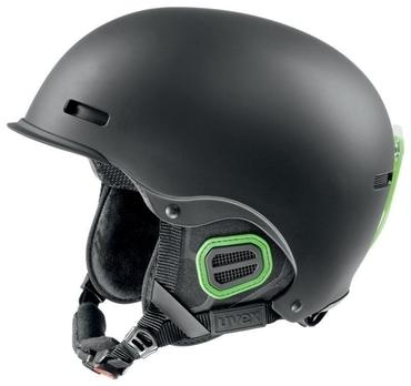 helma UVEX HLMT 5 PRO, black-green mat (S566146270