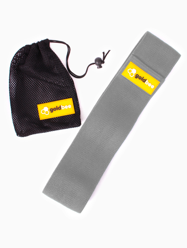 GoldBee Textilní Odporová Guma - Světle Šedá