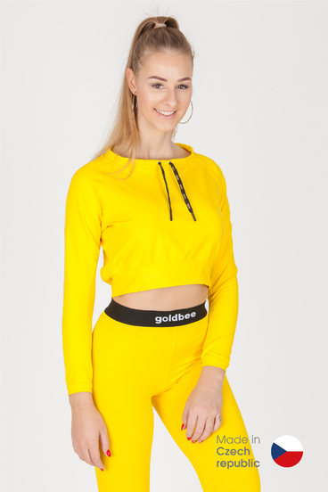 GoldBee CropTop BeCool Yellow