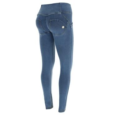 Freddy Jeans Světle Modré Zvýšený Pas SS18