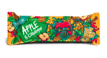 LifeLike Power Bar Apple Cinnamon - 50g