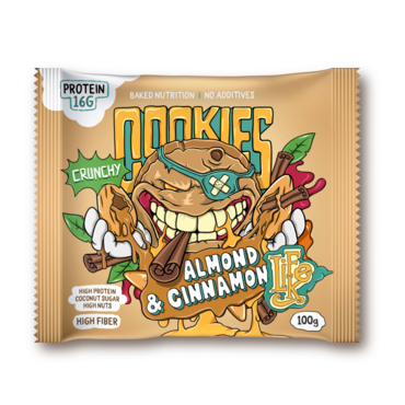 LifeLike Cookies Almond Cinnamon - 100g