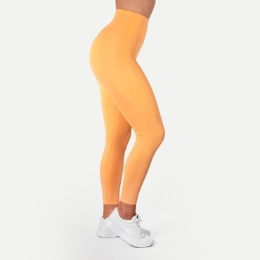 Better Bodies Legíny High Waist Light Orange