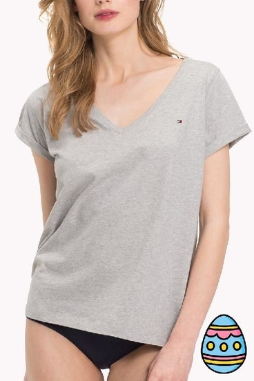 Tommy Hilfiger Women´s Top Šedá, S