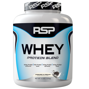 RSP Whey Protein Blend - Cookies And Cream - ZRUŠENO