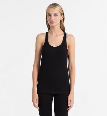 Calvin Klein Tílko Seamless Black