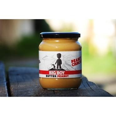 BigBoy Butter Peanut Crunchy 550g