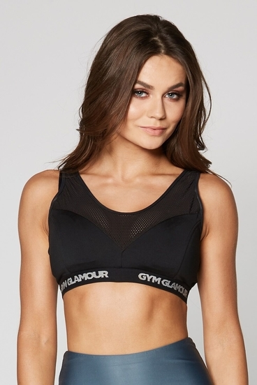 Gym Glamour Podprsenka Fitness Black