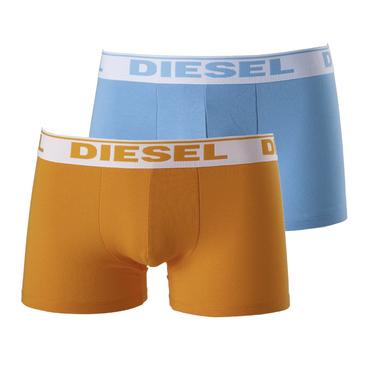 Diesel 2Pack Boxerky Modré A Oranžové