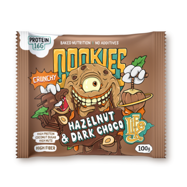 LifeLike Cookies Hazelnut Chocolate - 100g