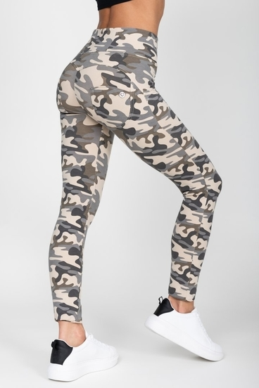 Hugz Camo Light High Waist Jegging