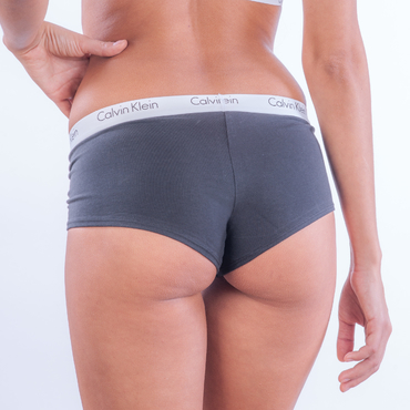 Calvin Klein Woman´s Boy Short Black