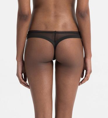 Calvin Klein Tanga Sculpted Black
