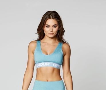 Gym Glamour Podprsenka Azure Basic
