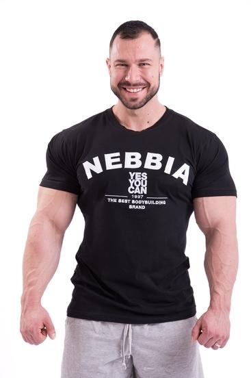 Nebbia Tričko 396 Pánské Hardcore Černé