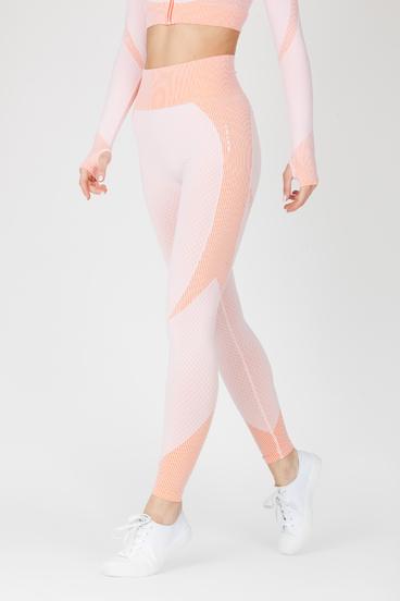 Naine 4.0. Bezešvé Legíny Curve - Pink