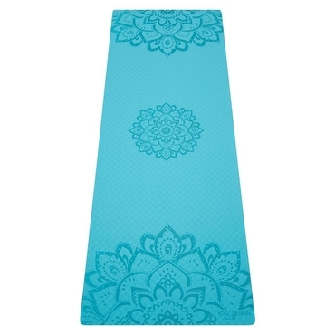 Yoga Design Lab 6.0mm Flow Mat - Pure Mandala Aqua