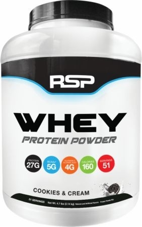 RSP Whey Protein Blend Cookies & Cream 5lb