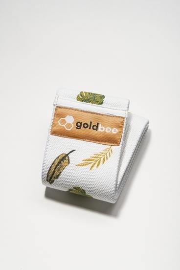 GoldBee Textilní Odporová Guma Leaves