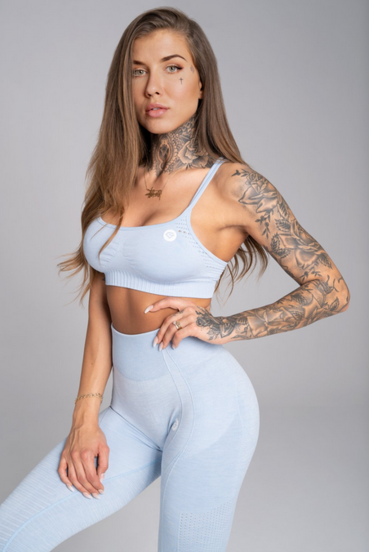 Gym Glamour Podprsenka Seamless Dream Blue