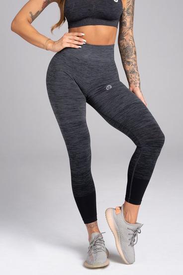 Gym Glamour Legíny Bezešvé Grey Ombré