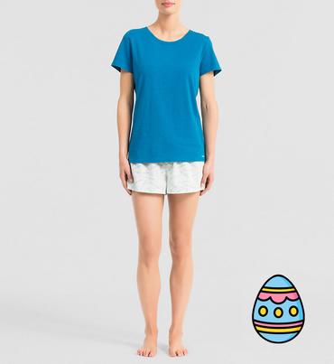 Calvin Klein Dámské Pyžamo Modré, L
