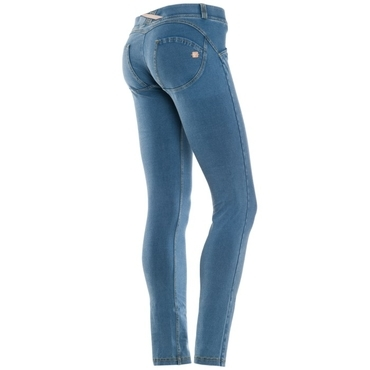Freddy Jeans Světle Modré Snížený Pas
