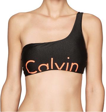 Calvin Klein Plavky One Shoulder RP Vrchní Díl