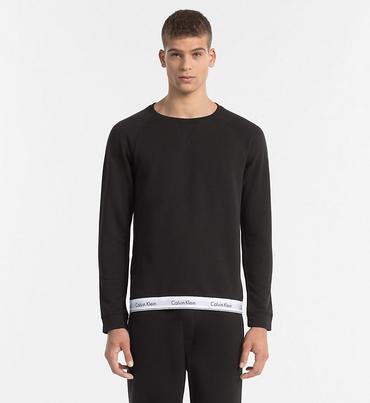 Calvin Klein Mikina Pánská Černá