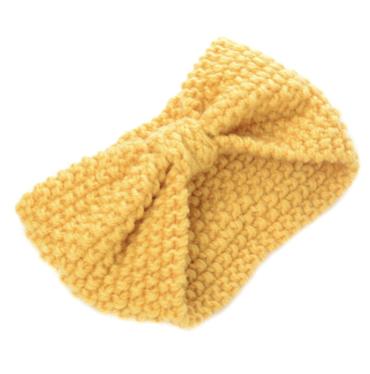 Čelenka Do Vlasů Zimní Žlutá