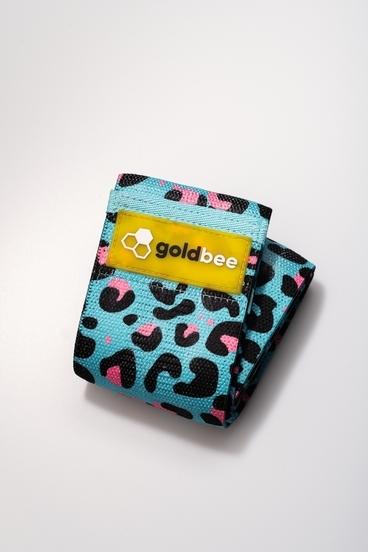 GoldBee Textilní Odporová Guma - Modro Růžová