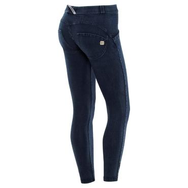 Freddy Jeans 7/8 Modré S Modrými Švy Normální Pas SS18