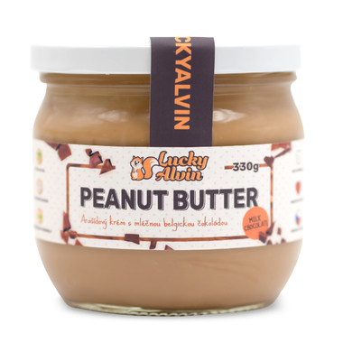 Lucky Alvin Peanut Butter Milk Choco 330g