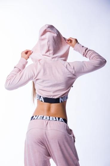 Nebbia 636 Velvet Jacket Lososová