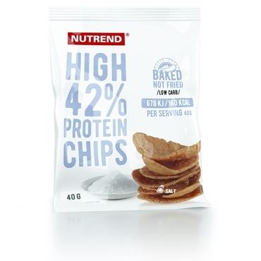Nutrend Proteinové Chipsy Slané