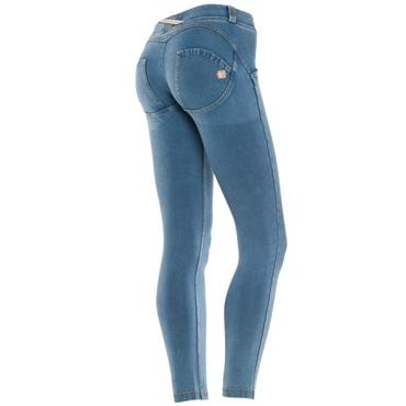 Freddy Jeans 7/8 Světle Modré Snížený Pas