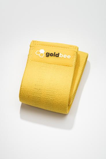 GoldBee Textilní Odporová Guma - Žlutá