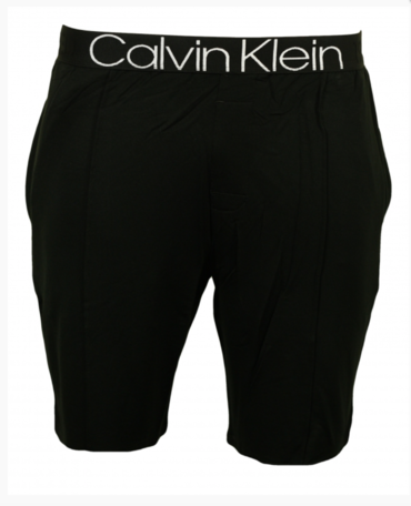Calvin Klein Pánské Kraťase Černé Se Švy