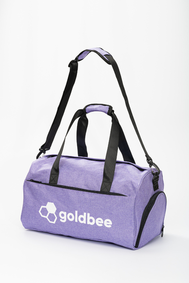 GoldBee Sportovní Taška - Fialová