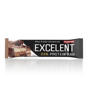 Nutrend Excelent Protein Bar Double Čokoláda + Nugát S Brusinkami