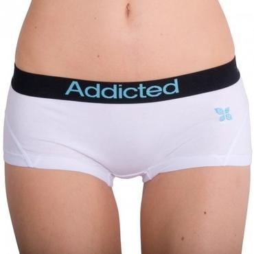 Addicted Kalhotky Bílo-Modré