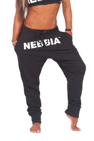 Nebbia Tepláky Černé 274