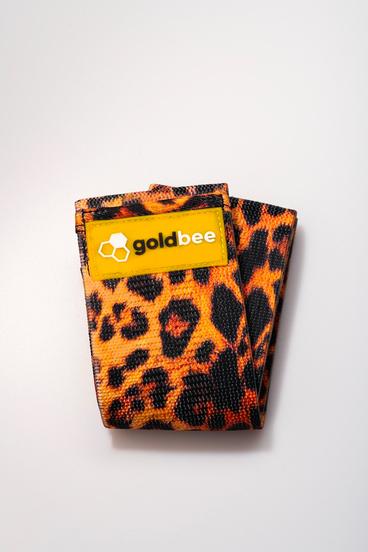 GoldBee Textilní Odporová Guma - Oranžová Tygrovaná