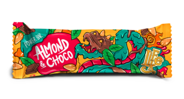 LifeLike Power Bar Almond Chocolate - 50g