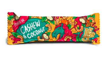 LifeLike Power Bar Cashew Coconut - 50g