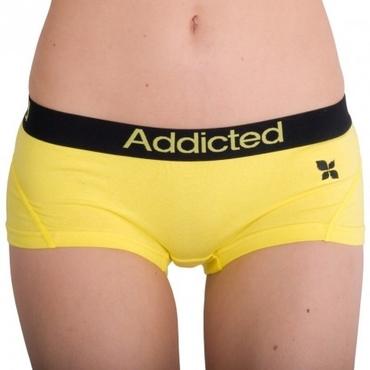 Addicted Kalhotky Žluté