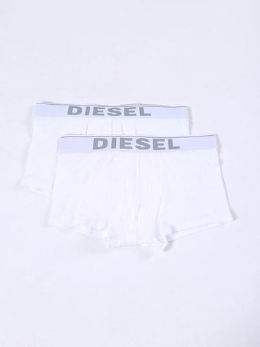 Diesel 2Pack Boxerky Bílé