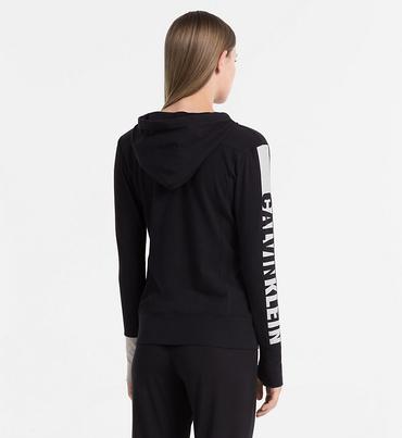 Calvin Klein Mikina Seamless Black