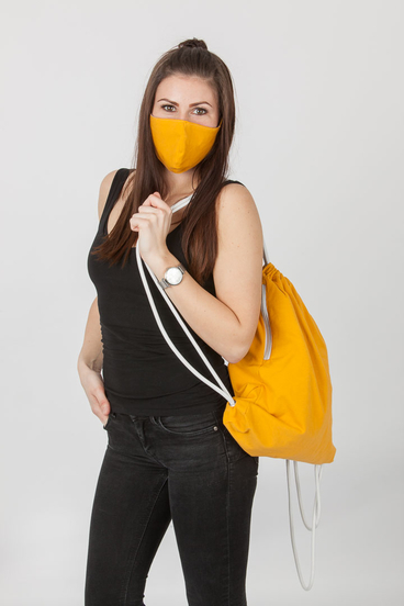Set Maska a Bag - Mustard